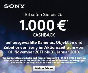 Sony CashBack 2017