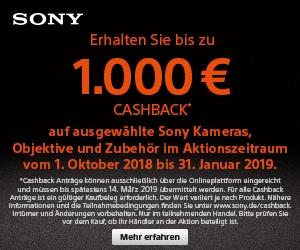 Sony CashBack 2018